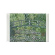 Funny Waterlily Rectangle Magnet