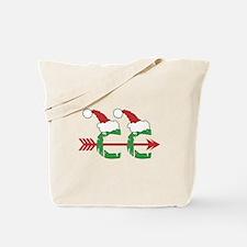 Cross Country Christmas Tote Bag