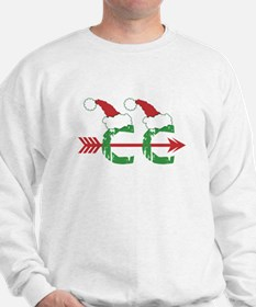Cross Country Christmas Sweatshirt