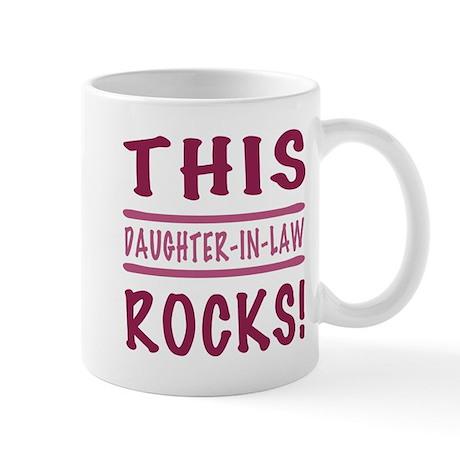 This Daughter-In-Law Rocks Mug