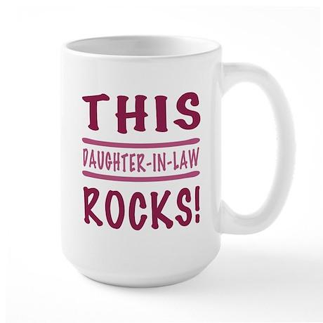 This Daughter-In-Law Rocks Large Mug