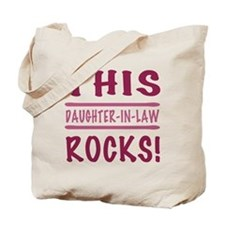 This Daughter-In-Law Rocks Tote Bag