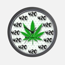 The 420 all the Time Wall Clock