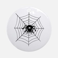'Spider Web' Ornament (Round)