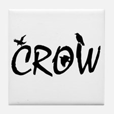 CROW Tile Coaster