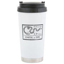 Unite, or Die Travel Mug