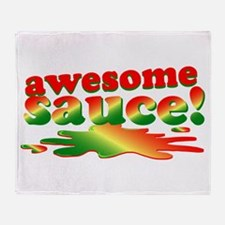 Awesome Sauce Throw Blanket