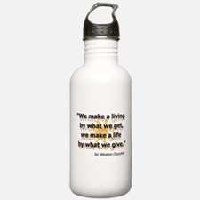 Churchill What We Give Water Bottle