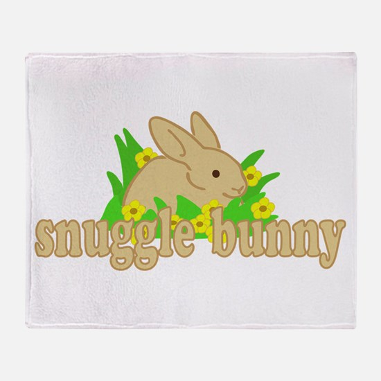Snuggle Bunny Throw Blanket