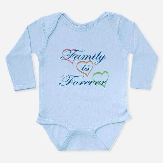 Family is Forever Long Sleeve Infant Bodysuit