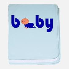 Cute Baby Boy baby blanket