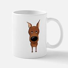 Big Nose Min Pin Mug