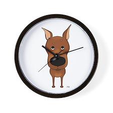 Big Nose Min Pin Wall Clock