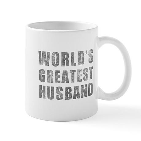 World's Greatest Husband (Grunge) Mug