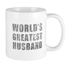World's Greatest Husband (Grunge) Mug