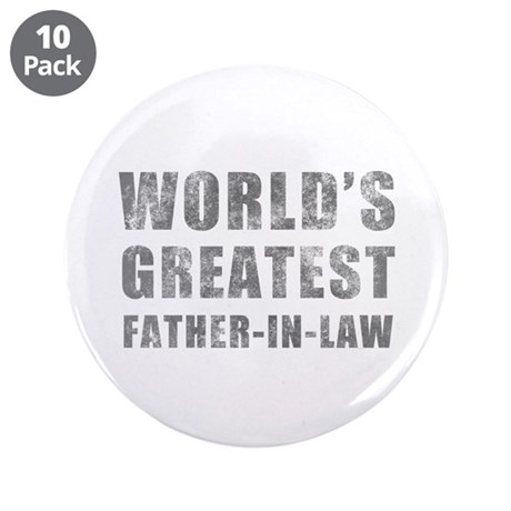 """World's Greatest Father-In-Law (Grunge) 3.5"""" Butto"""