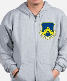 Cute 8th air force Zip Hoodie