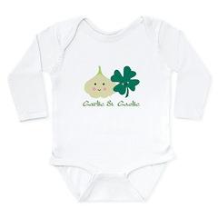 Garlic & Gaelic Long Sleeve Infant Bodysuit