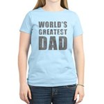 World's Greatest Dad (Grunge) Women's Light T-Shir