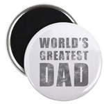 World's Greatest Dad (Grunge) Magnet