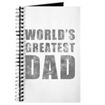 World's Greatest Dad (Grunge) Journal