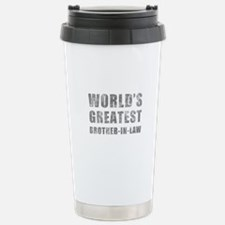 World's Greatest Brother-In-Law (Grunge) Travel Mug