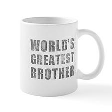 World's Greatest Brother (Grunge) Mug