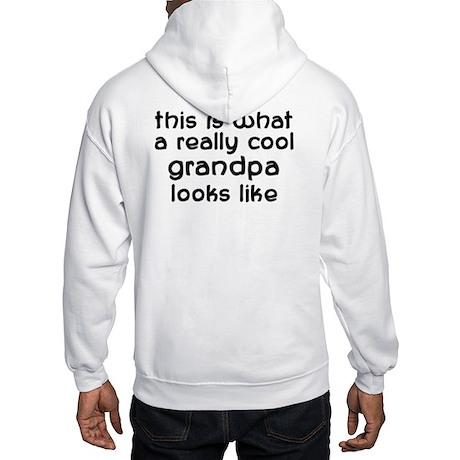 Cool Grandpa Hooded Sweatshirt
