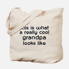 Cool Grandpa Tote Bag