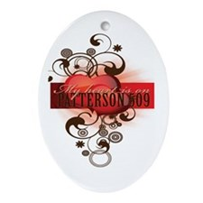 Patterson509 Ornament (Oval)
