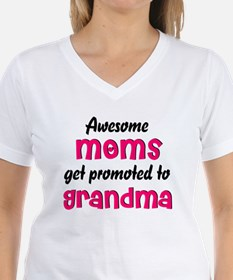 Awesome Moms get promoted Shirt