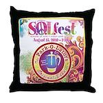 S.O.L Fest 2009 Throw Pillow