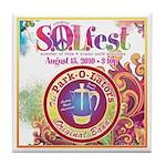S.O.L Fest 2009 Tile Coaster