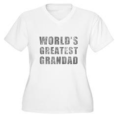 World's Greatest Grandad (Grunge) T-Shirt