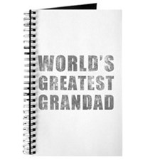 World's Greatest Grandad (Grunge) Journal