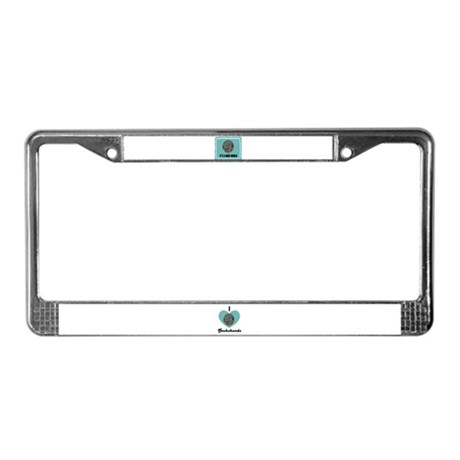 ITS A DOGS WORLD License Plate Frame