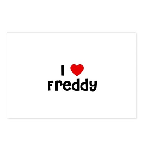 I * Freddy Postcards (Package of 8)