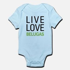 Live Love Belugas Infant Bodysuit