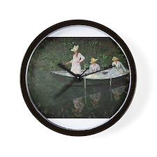 Cute Female boat Wall Clock