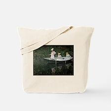 Cute Stream Tote Bag