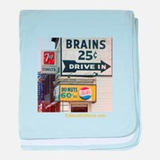 Brains 25 Cents baby blanket