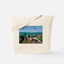 Cute Ships Tote Bag
