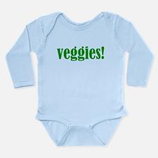 Veggies! Long Sleeve Infant Bodysuit