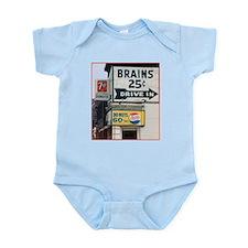 Brains Infant Bodysuit
