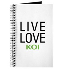 Live Love Koi Journal