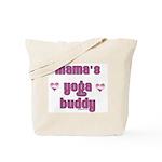 mamas yoga buddy Tote Bag