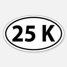 25K Oval decal Decal