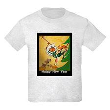 Cat - Happy new year - T-Shirt