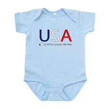 Like USA Infant Bodysuit
