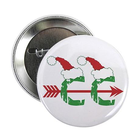 "Cross Country Christmas 2.25"" Button (100 pk)"